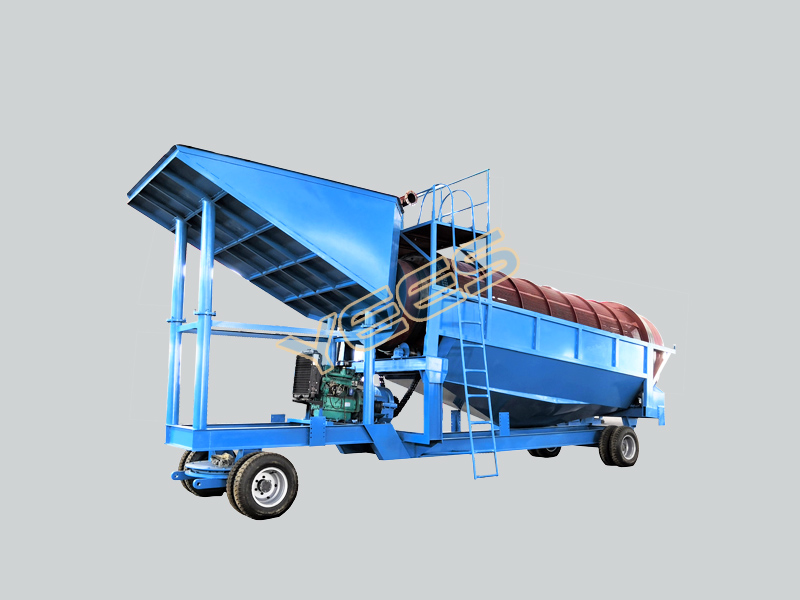 Mobile Trommel Wash Plant